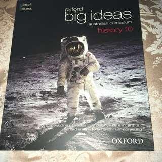 Oxford Big Ideas History Textbook Year Ten