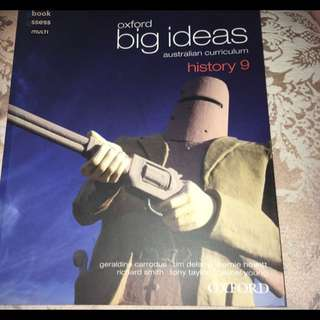 Oxford Big Ideas History Textbook Year 9