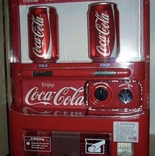 原裝可口可樂8罐裝限定汽水機(全港限定150部)