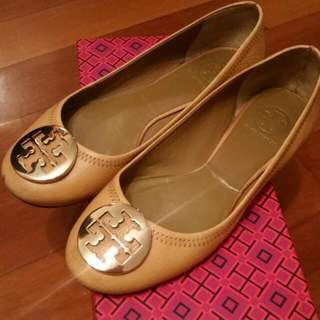 Tory Burch Beige Leather Shoes