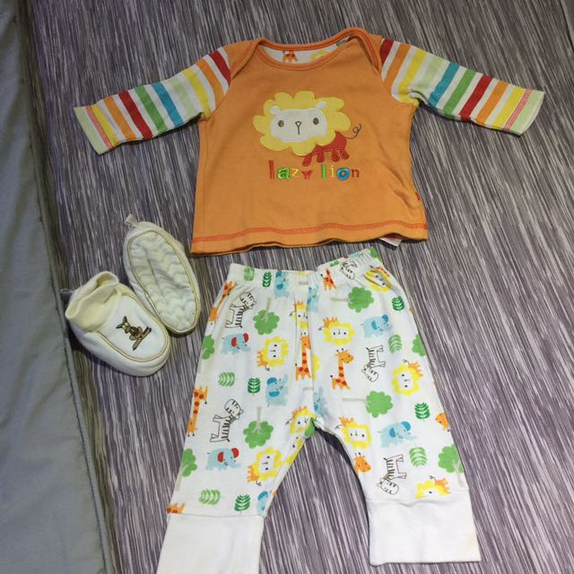 Mothercare Top Pants And Shoes