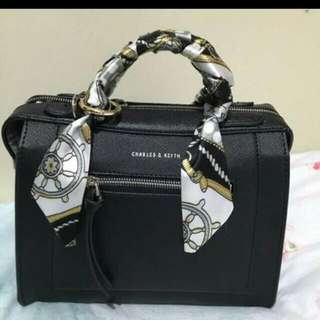 Charles and Keith Boxy Bag
