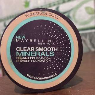 Maybelline Clear Smooth Minerals