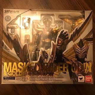 Shf Kamen Rider Ryuki - Odin & Goldphoenix