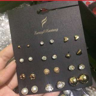 FREE ONGKIR anting 12 pairs anting claires anting f21