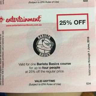 Barista Basics Course