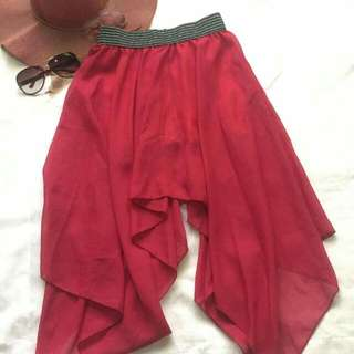 Fairy-like Red Skirt