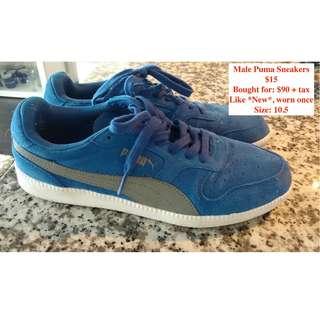 Men's PUMA sneakers *like NEW* (size 10.5)