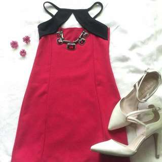 Jellybean Red Dress