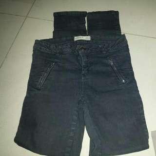 Repriced 300.00  2 Pants In 1 Price Cotton On Black Pants  Size 29 Hm Khaki Pants Size 29