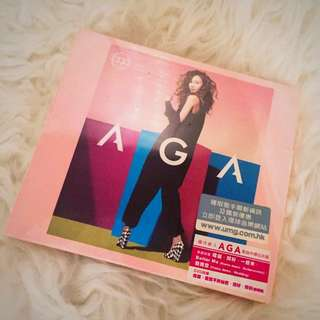 Aga (全新 未拆)同名 CD +DVD 2013