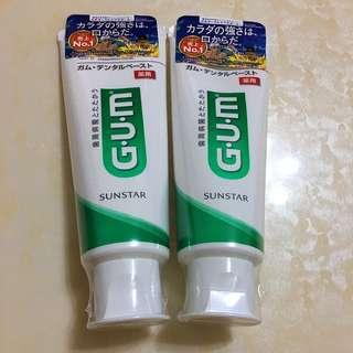 💕 G.U.M 牙膏/2條💕