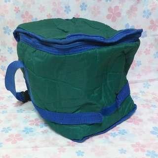 藍綠色保冷袋,可換物