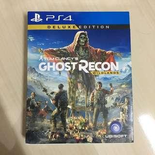 Ps4 Ghost Recon Wildlands Deluxe Edition