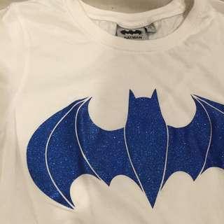 專櫃正版 蝙蝠俠亮粉彈性T恤