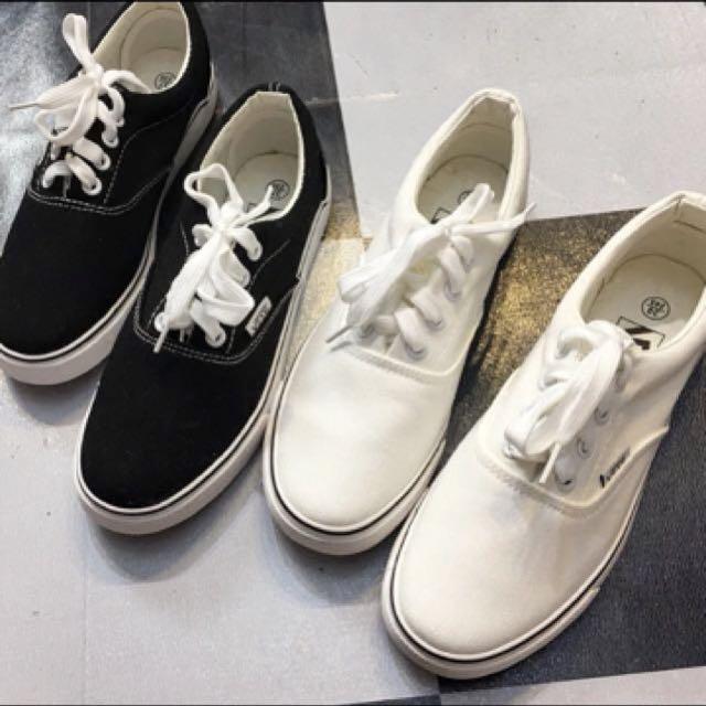 百搭街頭風翻玩板鞋小白鞋休閒鞋