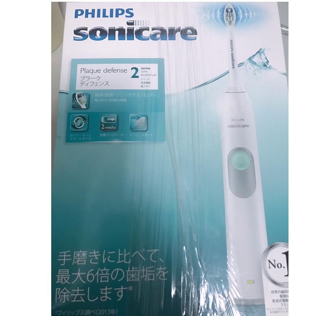 日本帶回* PHILIPS 飛利浦 即淨音波震動牙刷 HX6231 電動牙刷 贈刷頭