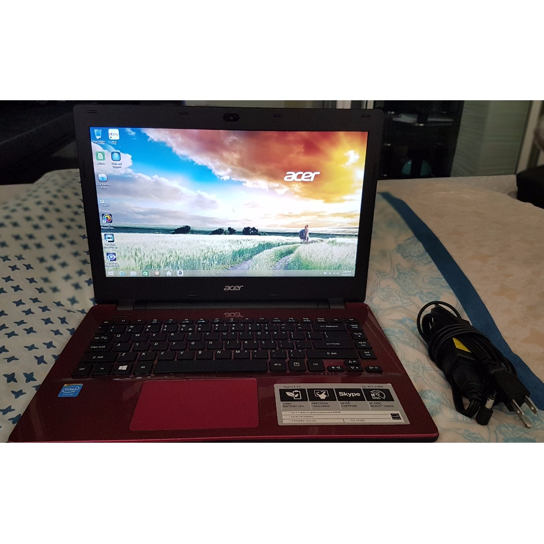 Acer Aspire E5-411-C9T0 (With Free Laptop Bag) (Negotiable)