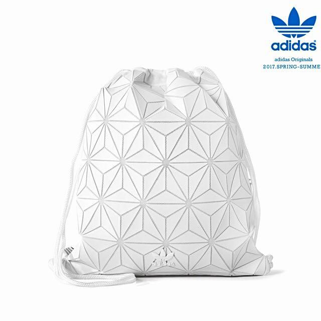 e42b590045e1 Adidas 3D Drawstring Bucket Gymsack X Issey Miyake