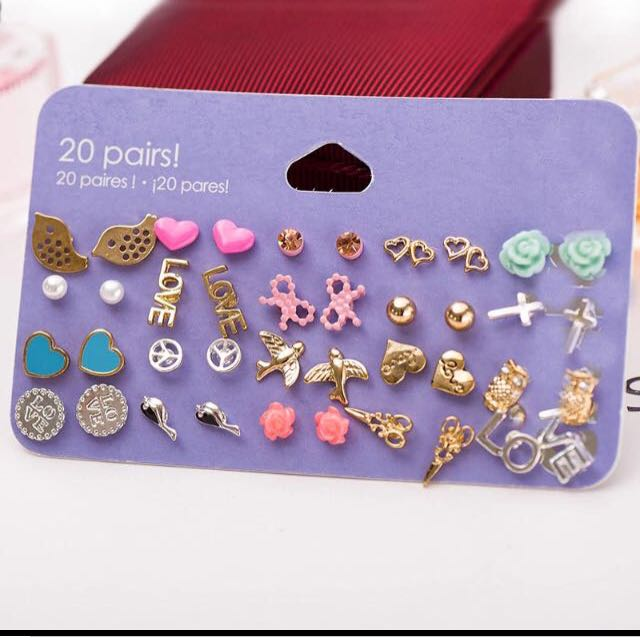 FREE ONGKIR anting claires anting f21 anting hnm