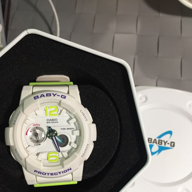 baby G 白色手錶少女時代代言款 #我有手錶要賣