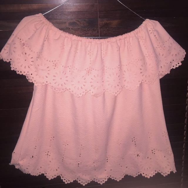 Baju Sabrina Pink
