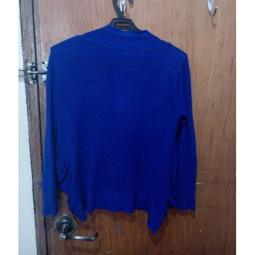Blue cloth blazer