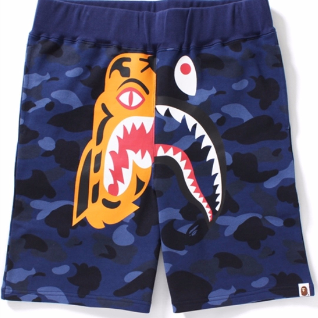 bape shorts tiger