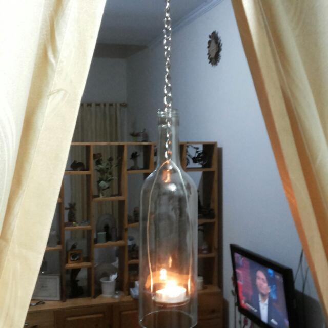 Botol Gantung Lilin