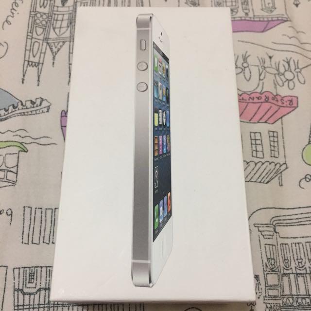 Box Kosong Iphone 5, White, 16GB