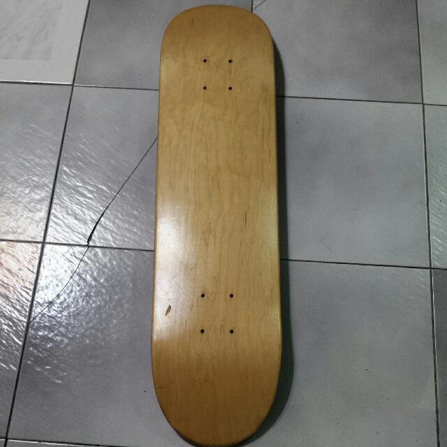 Brand New Blank Deck From FilSkate