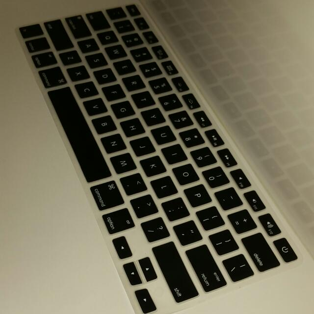 Brand New  Keyboard  Silicone Cover Available in  white Color