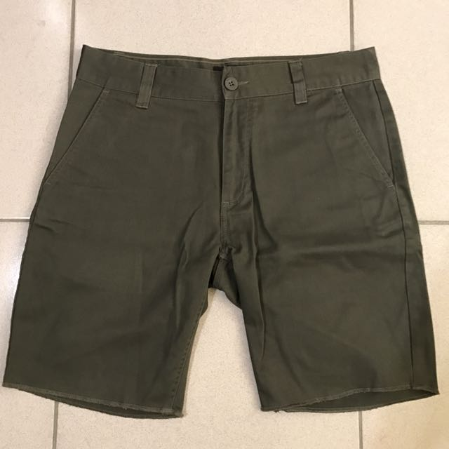 Brixton 短褲 軍綠色 32腰