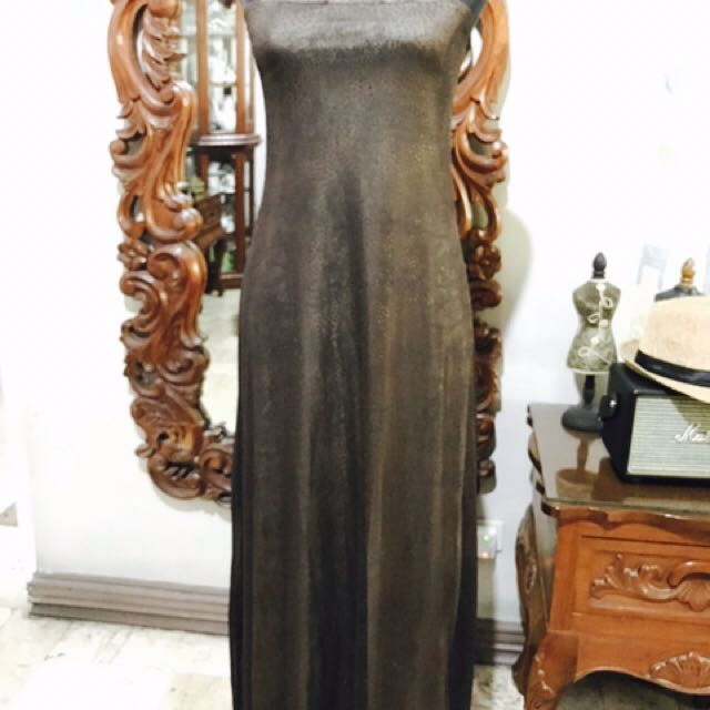 Ibiza Brown Formal Gown