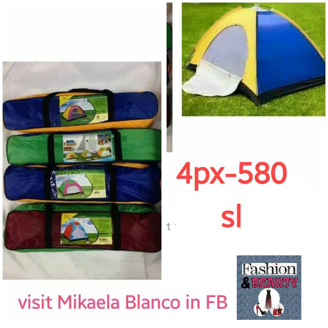 camping and beach tent