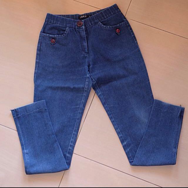 CARLA Basic Long Pants Jeans