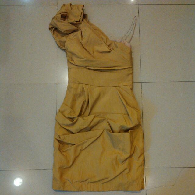 Ciel One Shoulder Dress Sz Xs