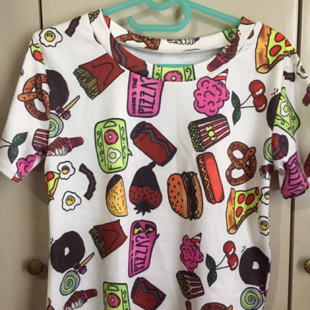 Collage Food Tee