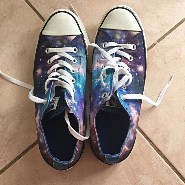 Converse All Stars Galaxy Print Shoes