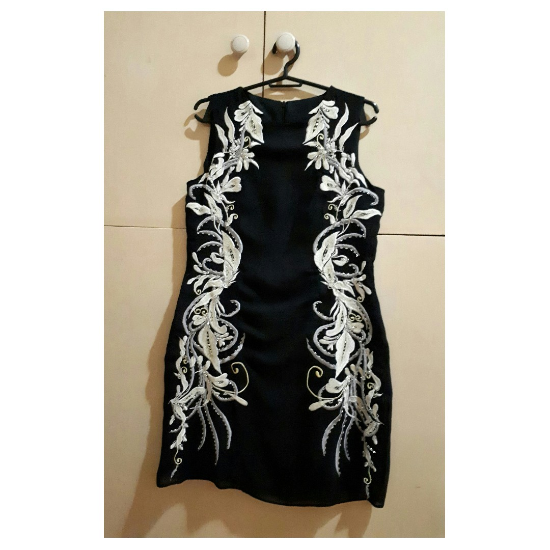 Custom Made LBD with Intricate Design