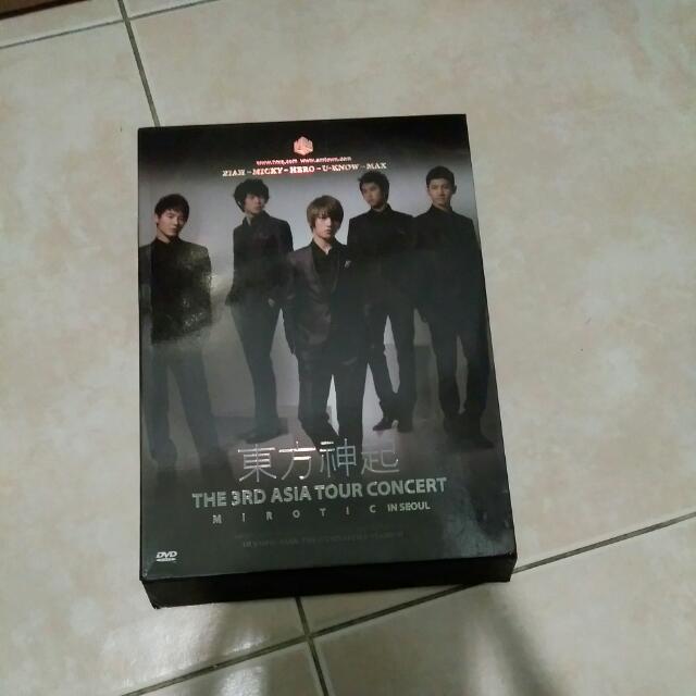 """DBSK 3 Asia Tour Concert (3DVD) """" MIROTIC"""""""