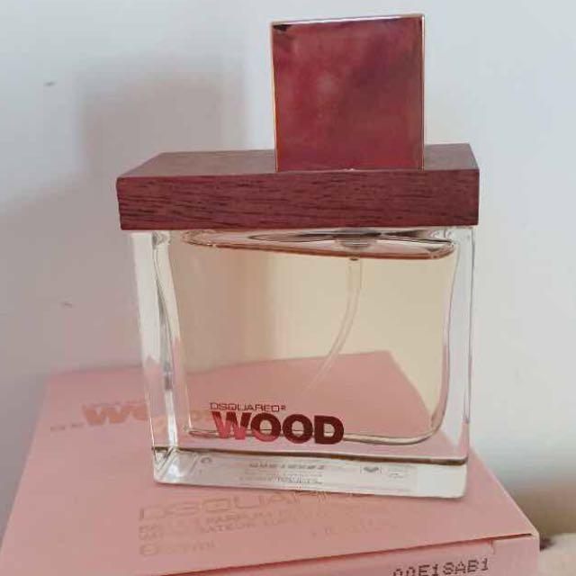 DSQUARED² She Wood 同名女性淡香水 30ml