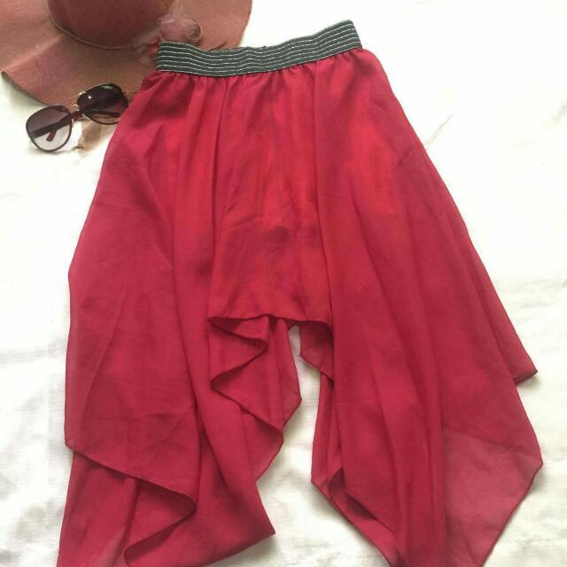 Fairy-like Red Skirt