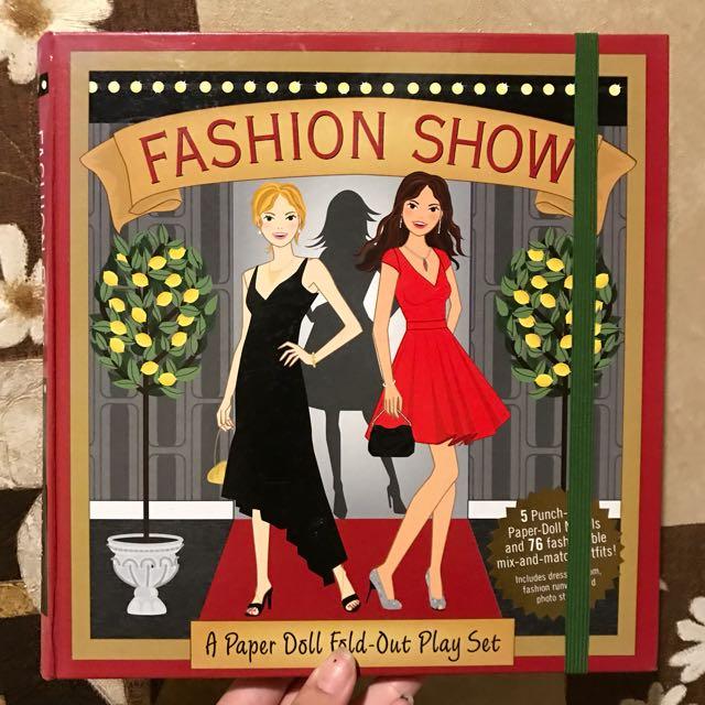 Fashion Paper Doll Book