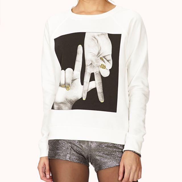 Forever 21 LA Sweater