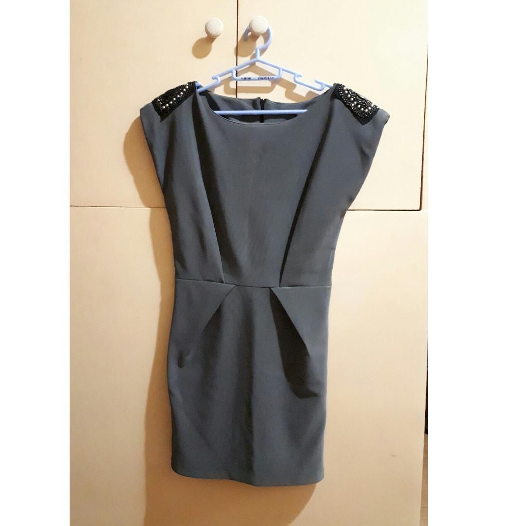 Formal Dress - Gray