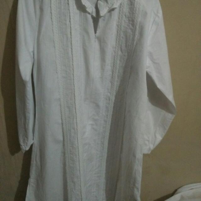 FREONG JABODETABEK Setelan Celana Muslim(putih)/baju Ihram