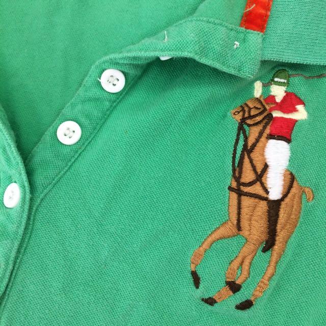 green Ralph Lauren Polo