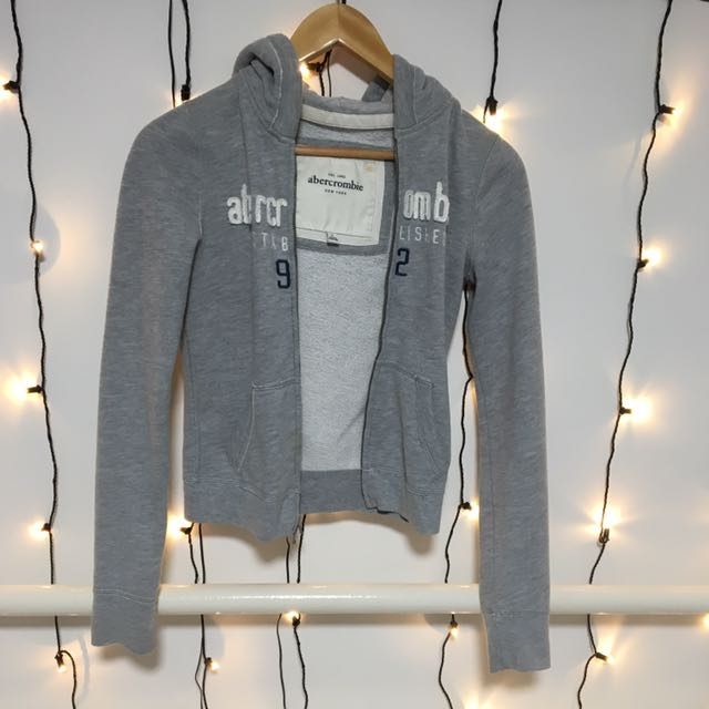 Grey Abercrombie and Fitch Jacket
