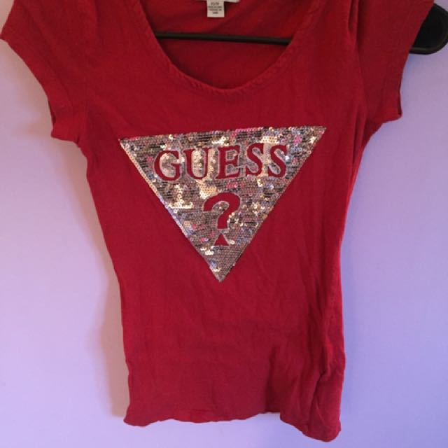 GUESS Red TShirt